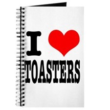 I Heart (Love) Toasters Journal