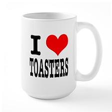 I Heart (Love) Toasters Mug