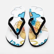 September Birth Girl Flip Flops