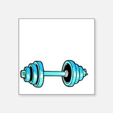 "I want to lift like my Dadd Square Sticker 3"" x 3"""