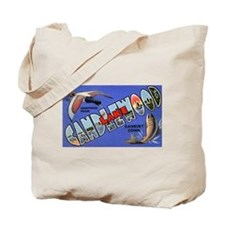 Candlewood Lake Connecticut Tote Bag