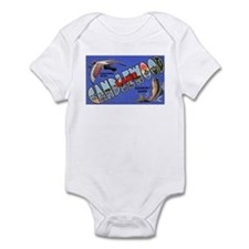 Candlewood Lake Connecticut Infant Bodysuit