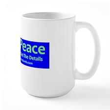 World Peace Parody Bumper Sticker Mug