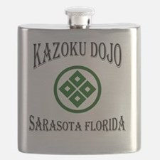KaZoku Dojo Sarasota Logo Flask