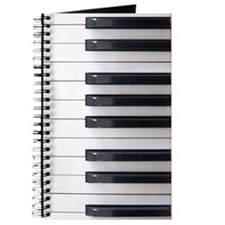 Piano Keyboard Keys Journal