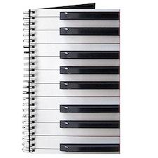 Piano Keyboard Keys Journal