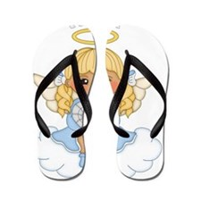 April Birth Girl Flip Flops