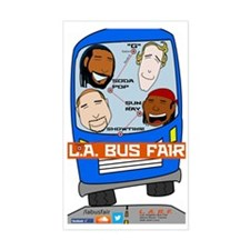 L.A. Bus Fair Decal