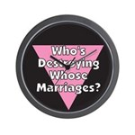 Destroying Whose Marriage?! Wall Clock
