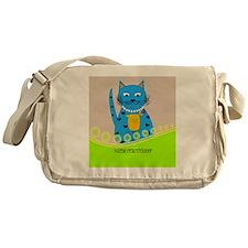 Nurse Practitioner cat Messenger Bag
