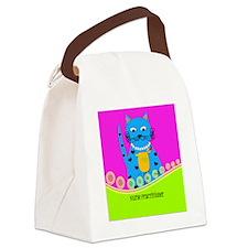 Nurse Practitioner Cat 2 Canvas Lunch Bag
