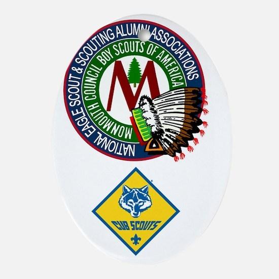 Cub Scout Alumni Oval Ornament