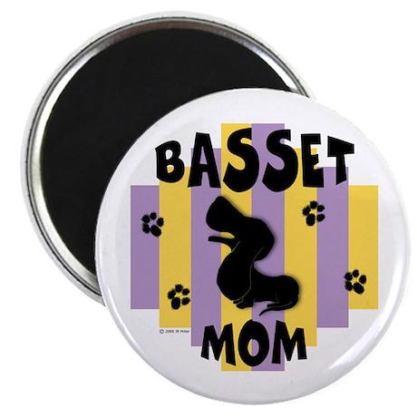 "Basset Hound Mom 2.25"" Magnet (100 pack)"