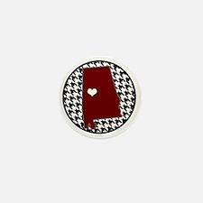 Roll Tide in my Heart Mini Button