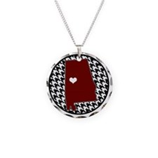 Roll Tide in my Heart Necklace