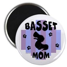 Basset Hound Mom Magnet