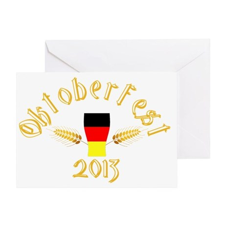 Oktoberfest 2013 Greeting Card