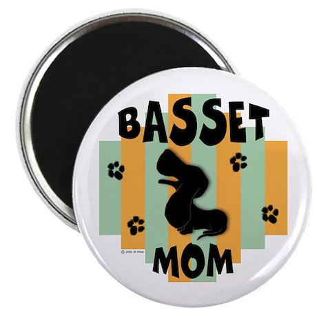 "Basset Hound Mom 2.25"" Magnet (10 pack)"