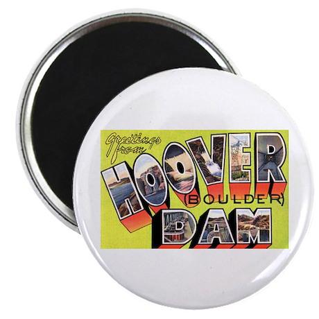 Hoover Boulder Dam Magnet