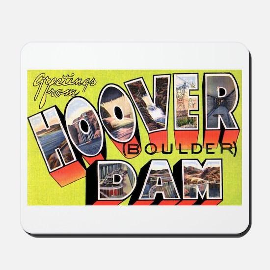 Hoover Boulder Dam Mousepad