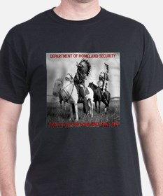 NDN Warriors Homeland Securit T-Shirt