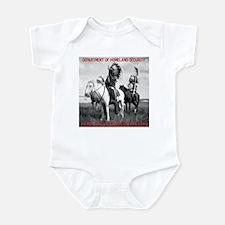 NDN Warriors Homeland Securit Infant Bodysuit