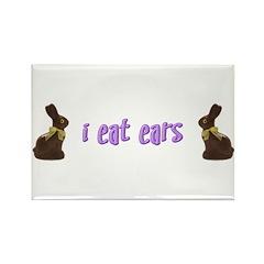 I Eat Ears Rectangle Magnet (100 pack)