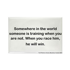 Runner's Quote Rectangle Magnet (10 pack)