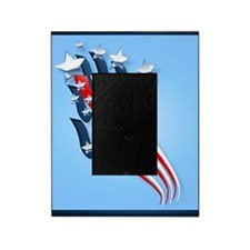 Sweeping American Flag Picture Frame
