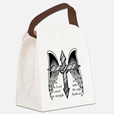 Wings Like Eagles Canvas Lunch Bag