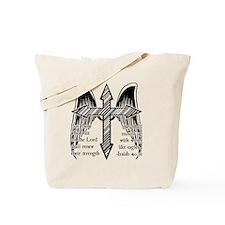 Wings Like Eagles Tote Bag