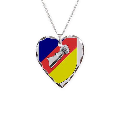 2 Schnellbootgeschwader Wappe Necklace Heart Charm
