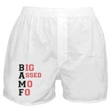 BAFF - BIG ASSED MO FO! Boxer Shorts