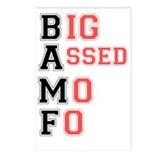BAFF - BIG ASSED MO FO! Postcards (Package of 8)