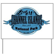 channel islands 2 Yard Sign