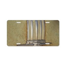 Pontiac 53 chrome Aluminum License Plate