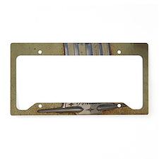 Pontiac 53 chrome License Plate Holder