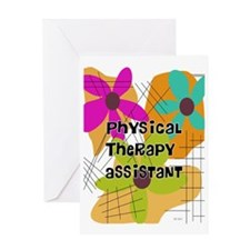 physical therapist asst 2 Greeting Card