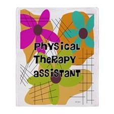 physical therapist asst 2 Throw Blanket