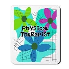 physical therapist 3 Mousepad