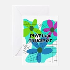 physical therapist 3 Greeting Card