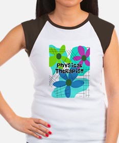 physical therapist 3 Women's Cap Sleeve T-Shirt