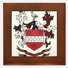 Unique Satterley family crest Framed Tile
