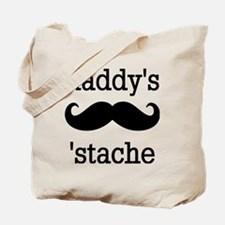 Daddy's 'Stache Tote Bag