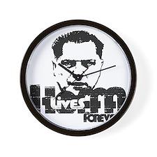 Hoffa Lives Forever Wall Clock