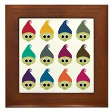 troll army copy Framed Tile