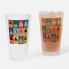 troll army rainbow leader Drinking Glass