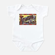 Wisconsin Dells Greetings Infant Bodysuit