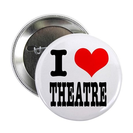 "I Heart (Love) Theatre 2.25"" Button (100 pack)"