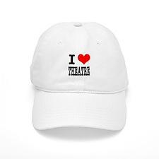 I Heart (Love) Theatre Baseball Cap
